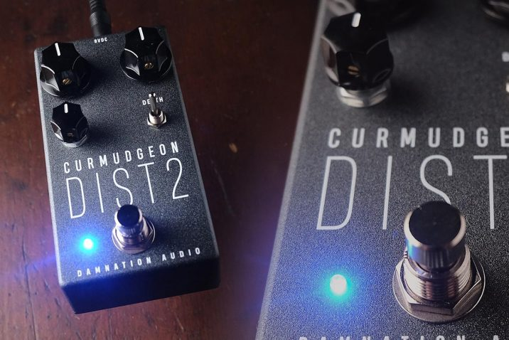Damnation Audio Curmudgeon 2 Bass Amp Distortion Pedal