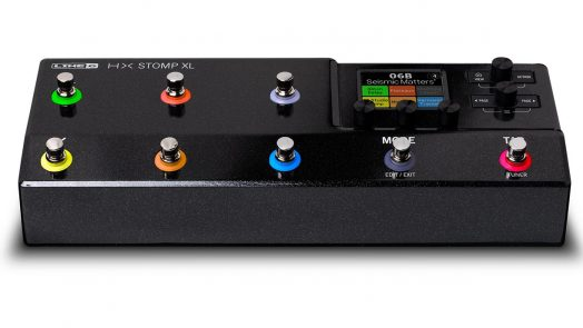 Line 6 HX Stomp XL amp and effects processor