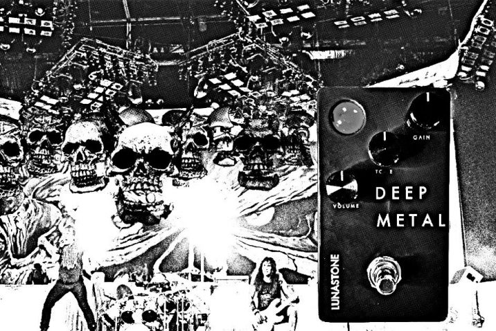 Lunastone Deep Metal Distortion Pedal