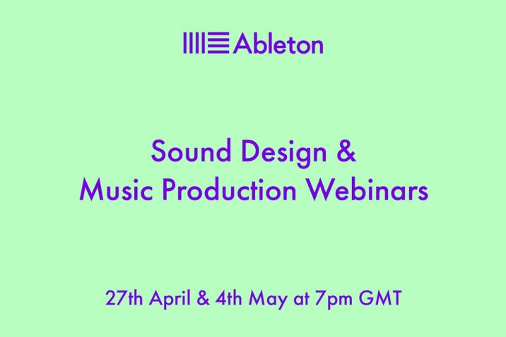 Ableton Launch Free Sound Design And Music Production Sessions