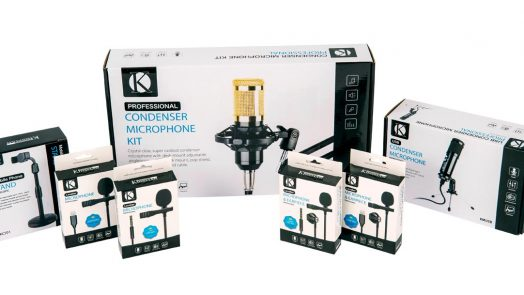KINSMAN introduce new products specifically designed for home recording, podcasts, broadcast and studio recording