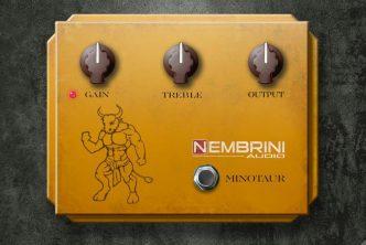 Nembrini Audio Clon Minotaur Transparent Overdrive Plug-In