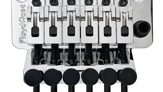 Floyd Rose Releases New CNC Saddles for their Original Tremolo System