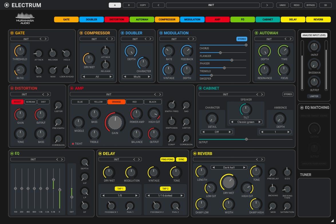 United Plugins Muramasa Audio Electrum plug-in