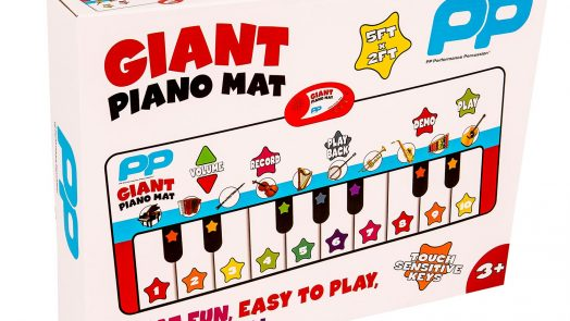 Giant Piano Mat from Performance Percussion