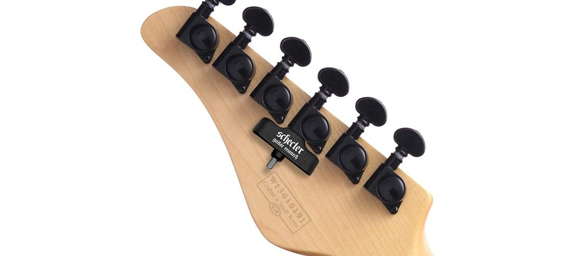 HexHider Magnetic Hex Wrench Featured on Schecter Guitars