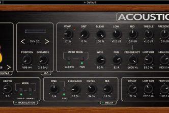 Nembrini Audio Acoustic Voice guitar preamp plugin