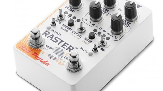 Red Panda Raster 2 Pitch-Shifted Delay Pedal