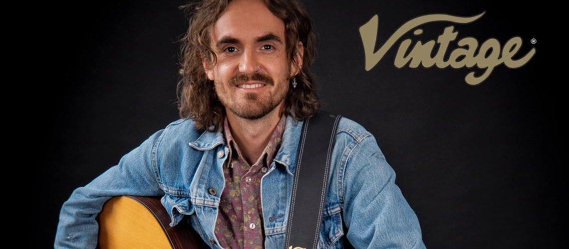 Blair Dunlop endorses Vintage guitars