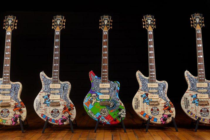 HeadCount Announces Dead & Company Tour Branded D'Angelico Guitars