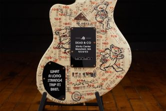 Dead & Company Tour Branded D'Angelico Guitars