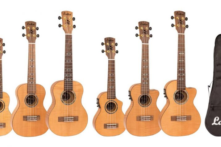 Laka adds new series to their popular lines of professional ukuleles
