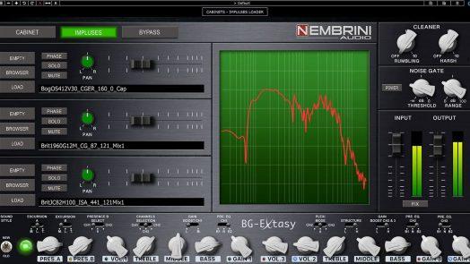Nembrini Audio BG Extasy Boutique Guitar Amplifier Plugin