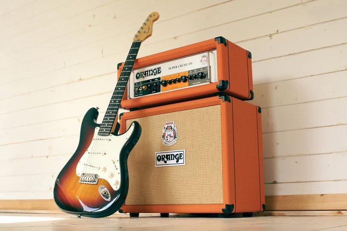 Orange Amplification Launch Super Crush 100 Head and Combo