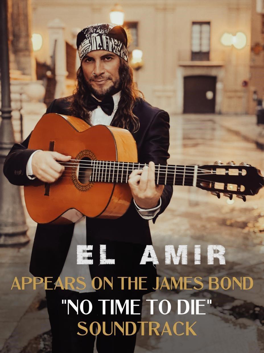 Amir John Haddad - EL AMIR records flamenco guitar on the new James Bond