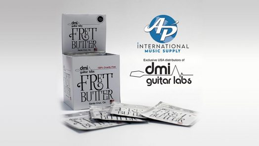 AP International Becomes Exclusive USA Distributors of DMI Guitar Labs Line of Cleaning Products