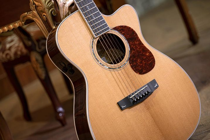 Cort Gold-OC8 Orchestra Model Acoustic-Electric Guitar