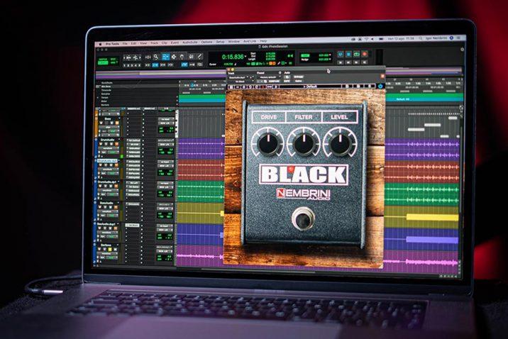 Nembrini Audio Black Distortion Plugin